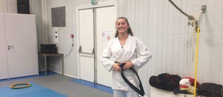 Une nouvelle ceinture noire au Karaté Club Aubinois !
